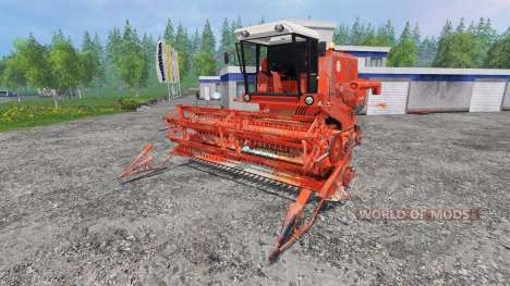 Bizon Z056 [red] pour Farming Simulator 2015