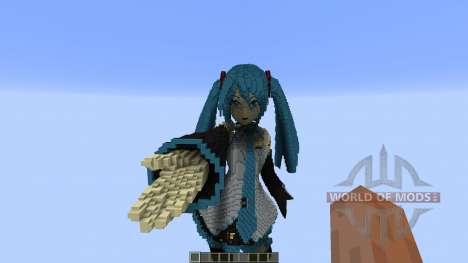 Hatsune Miku für Minecraft