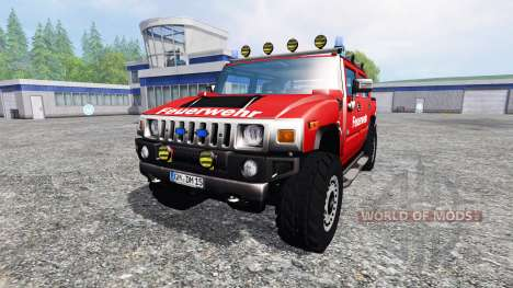 Hummer H2 [firefighters] pour Farming Simulator 2015