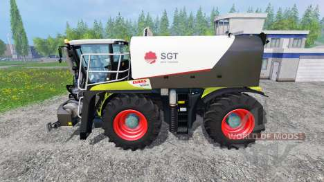 CLAAS Xerion 4000 SaddleTrac v1.5 pour Farming Simulator 2015