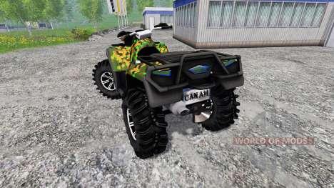 Can-Am Outlander 1000 XT für Farming Simulator 2015