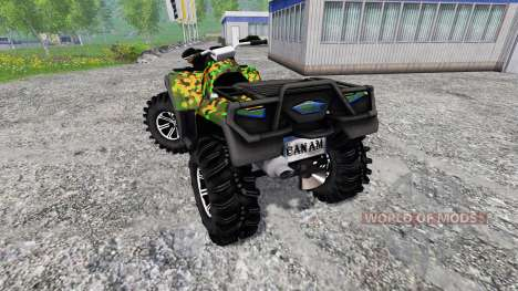 Can-Am Outlander 1000 XT pour Farming Simulator 2015