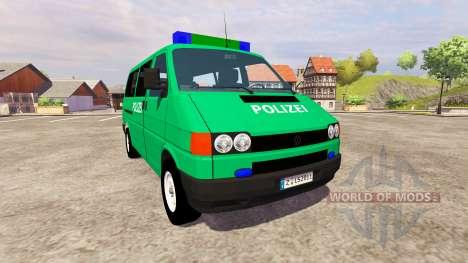 Volkswagen Transporter T4 Police für Farming Simulator 2013