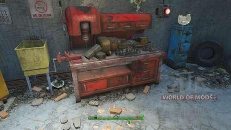 Cheat auf die Materialien zum basteln für Fallout 4