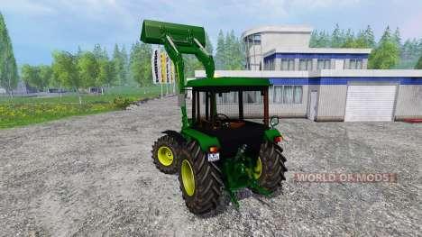 John Deere 2850A pour Farming Simulator 2015