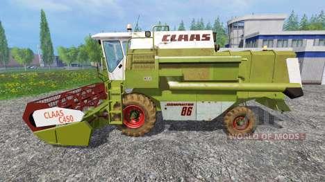 CLAAS Dominator 86 v1.5.5b pour Farming Simulator 2015
