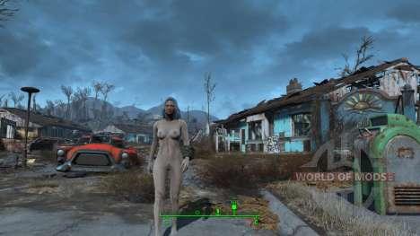 Femme nue caractères pour Fallout 4