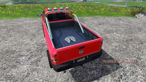 Dodge Ram 2500 Heavy Duty pour Farming Simulator 2015