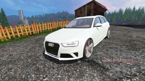 Audi RS4 Avant v1.1 für Farming Simulator 2015