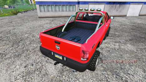 Dodge Ram 2500 Heavy Duty v1.1 für Farming Simulator 2015