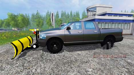 Dodge Pickup [snowplow] v2.1 pour Farming Simulator 2015