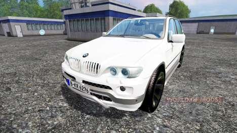 BMW X5 für Farming Simulator 2015