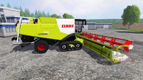 CLAAS Lexion 750TT v1.2 pour Farming Simulator 2015