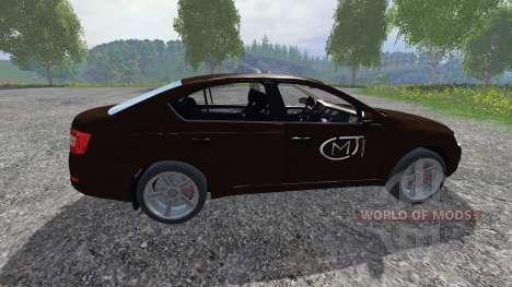 Skoda Octavia III pour Farming Simulator 2015