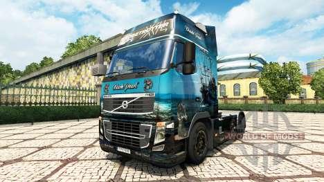 La Perle noire de la peau pour Volvo camion pour Euro Truck Simulator 2