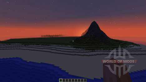 The Island Of jarkadt pour Minecraft