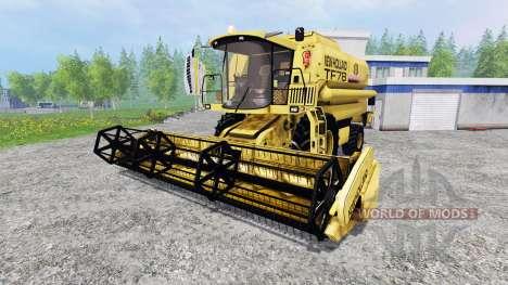 New Holland TF78 v1.15 pour Farming Simulator 2015