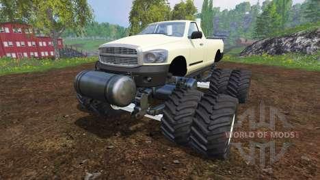PickUp Monster Truck für Farming Simulator 2015