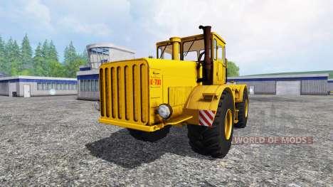 K-700 Kirovets pour Farming Simulator 2015