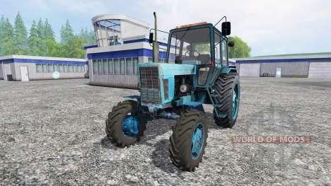 MTZ-102 pour Farming Simulator 2015