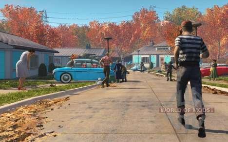 Déverrouiller les portes de la maison avant la g pour Fallout 4