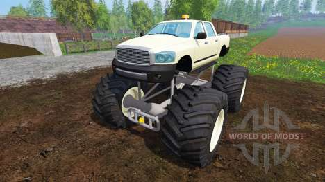 PickUp Monster Truck v1.0 pour Farming Simulator 2015