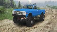 Chevrolet C10 Cheyenne 1972 [blue] für Spin Tires