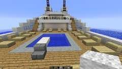 Le Soleal Minecraft Ship Replica
