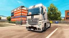 Mercedes-Benz Actros MP4 pour Euro Truck Simulator 2