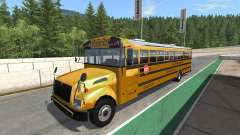 Blue Bird American School Bus v2.1 pour BeamNG Drive