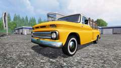 Chevrolet C10 Fleetside 1966 für Farming Simulator 2015