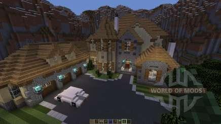 European Mountain Mansion pour Minecraft