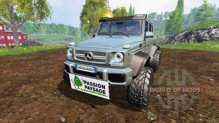 Mercedes-Benz G65 AMG 6x6 [passion paysage] für Farming Simulator 2015