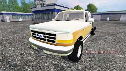 Ford F-150 [flatbed] pour Farming Simulator 2015