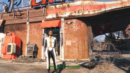 Weiße jumpsuit Vault 111 für Fallout 4