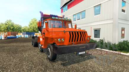 Oural 43202 v2.0 pour Euro Truck Simulator 2