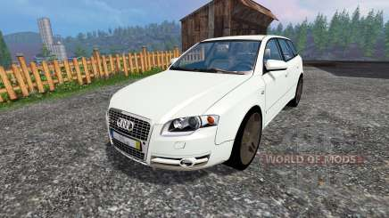 Audi A4 Avant Quattro v1.1 pour Farming Simulator 2015