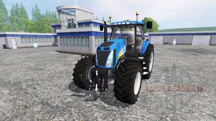 New Holland T8020 v4.0 pour Farming Simulator 2015