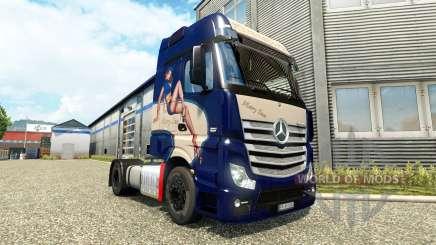 Mercedes-Benz Actros MP4 [Mary Sue Edition] pour Euro Truck Simulator 2
