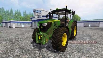 John Deere 6170R v2.0 pour Farming Simulator 2015