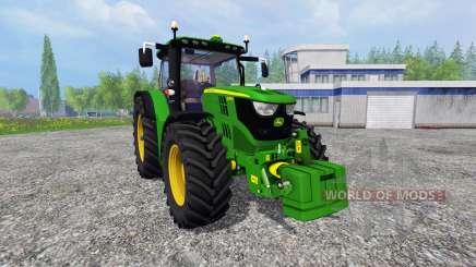John Deere 6170R v2.3 pour Farming Simulator 2015