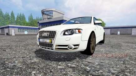 Audi A4 Avant Quattro pour Farming Simulator 2015