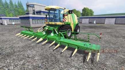Krone Big X 1100 [125000 liters] pour Farming Simulator 2015