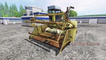 Fortschritt E 281 v1.1 für Farming Simulator 2015