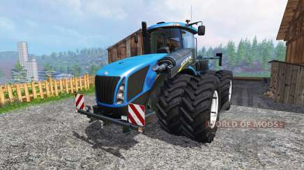 New Holland T9.700 [dual wheel] v1.1.2 pour Farming Simulator 2015