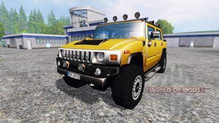 Hummer H2 für Farming Simulator 2015