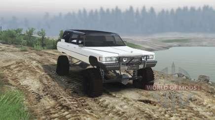 Cadillac Hearse 1975 [monster] [pale white] für Spin Tires
