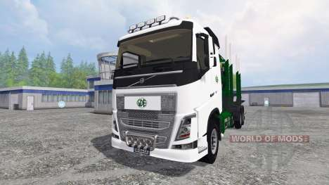 Volvo FH16 [timber carrier] für Farming Simulator 2015