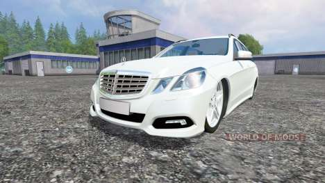 Mercedes-Benz E350 [beta] für Farming Simulator 2015