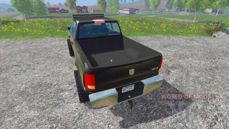 Dodge Ram 2500 2012 v4.0 pour Farming Simulator 2015